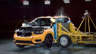 Volvo XC40 Crash Test İndia