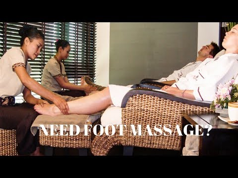 Thai Reflexology Foot Massage in Bangkok, Thailand Part 3
