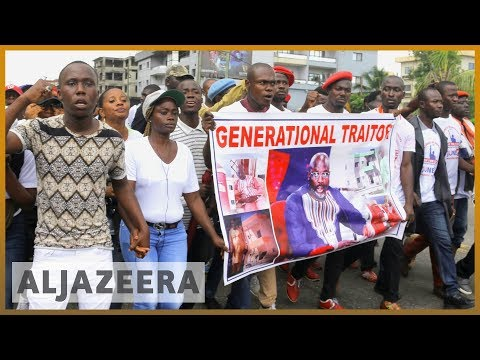 Liberia: Thousands protest price hikes and corruption