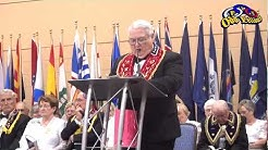Odd Fellows Sovereign Grand Master Acceptance Speech (2013-2014 Term)