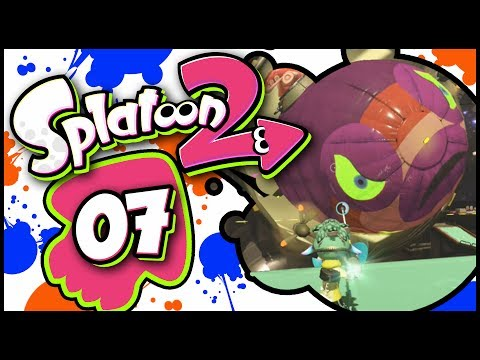 Splatoon 2 - Part 7 | Octozepplin Invasion! [Octo Canyon 100% Walkthrough]