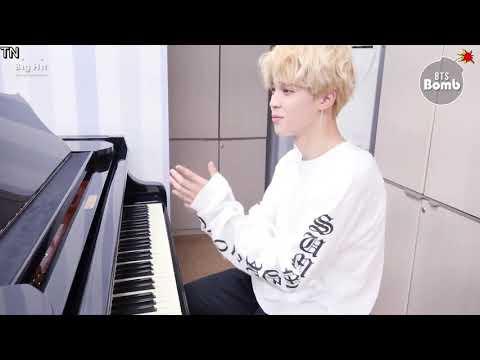 [ENGSUB][BANGTAN BOMB] JIMIN's Piano solo showcase X2