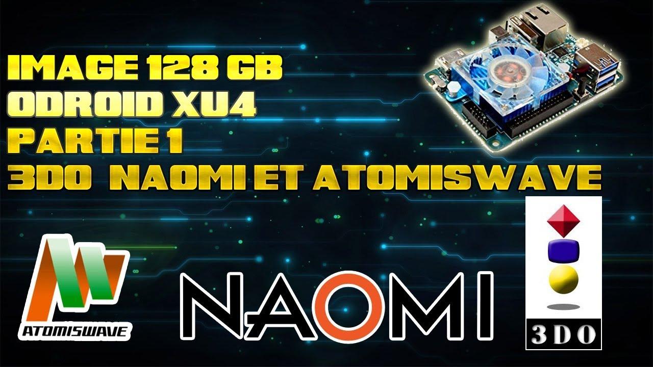 [128GB] Odroid XU4 ORA avec la 3do , naomi , atomiswave partie 1