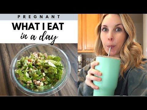 WHAT I EAT IN A DAY PREGNANT | 2ND TRIMESTER