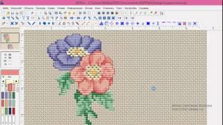 Cross Stitch Professional Platinum — работа с областью, часть 1