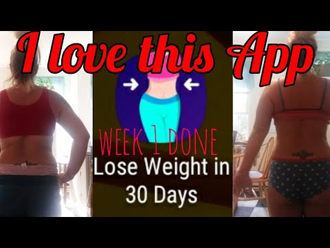 Lose weight in 30 days app before and after