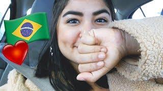 CHEGUEI NO BRASIL !!