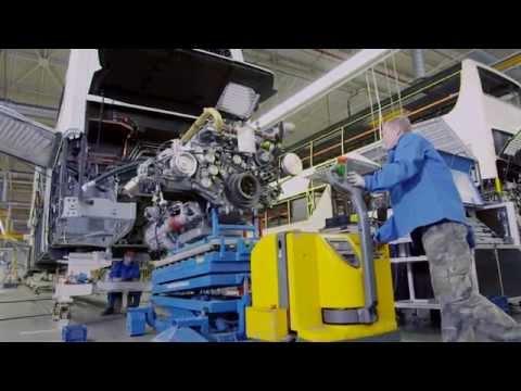 #12 2015 Mercedes Benz buses Production EvoBus Производство Мерседес автобусы 2015