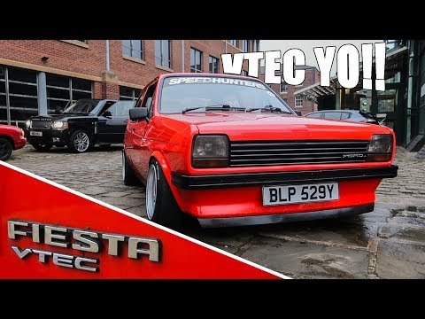 INSANE VTEC SWAPPED MK1 FIESTA!!