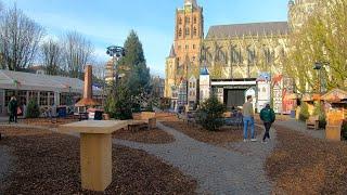 Walking in 's-Hertogenbosch/Den Bosch 🎄 | North Brabant, The Netherlands - 4K50