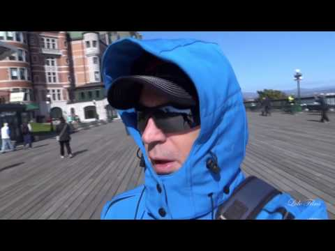 Down the Streets of QUEBEC / Nick in  CANADA  / Movie 1 of 3