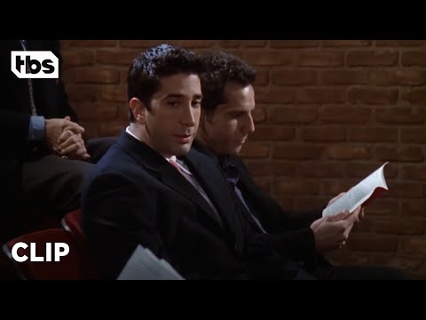 Friends: Ross Meets Tommy [CLIP] | TBS