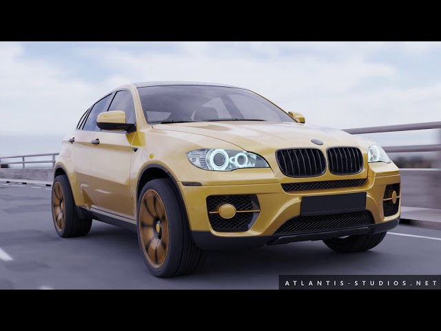 Concept BMW - X6 Visual effects advert