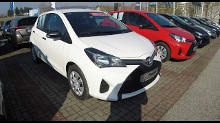 TOYOTA YARIS !! XP13 !! 3RD GENERATION FACELIFT !! WHITE COLOUR !! WALKAROUND !!