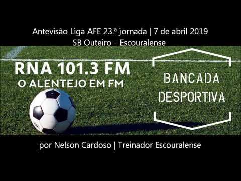 Antevisão SB Outeiro - Escouralense | Liga AFE 23.ª jornada