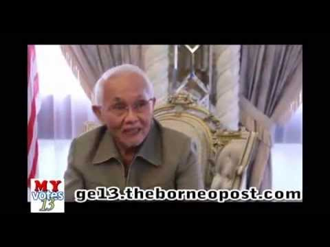 Interview - Pehin Sri Taib Mahmud's Election Message 2013
