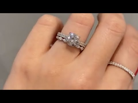 solitaire-2-carat-round-diamond-engagement-ring-&-platinum-diamond-wedding-band---hana-&-natali