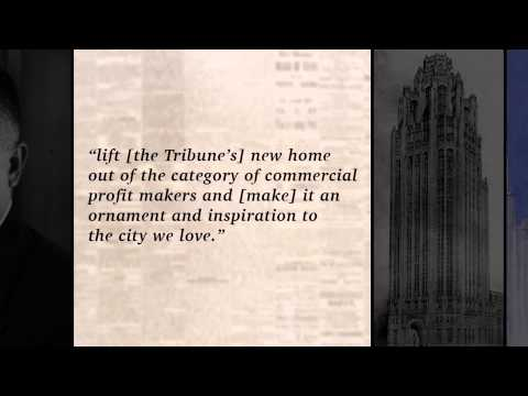 Tribune Tower: A Groundbreaking Competition