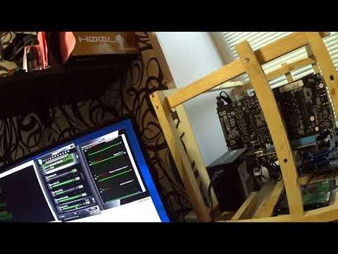 Тест в майнинге MSI Aero GTX 1060 6gb Ethereum Zcash