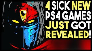 4 SICK NEW PS4 GAMES JUST GOT REVEALED FOR 2019!