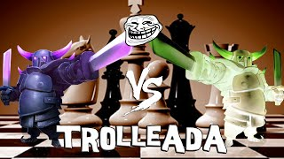 Pekka vs Pekka | Trolleadas | Descubriendo Clash of Clans