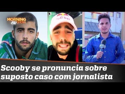 Pedro Scooby se pronuncia sobre história de jornalista que diz ter tido caso com ele