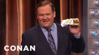 Andy Richter Rips Through Space & Time For A Subway Sandwich  - CONAN on TBS