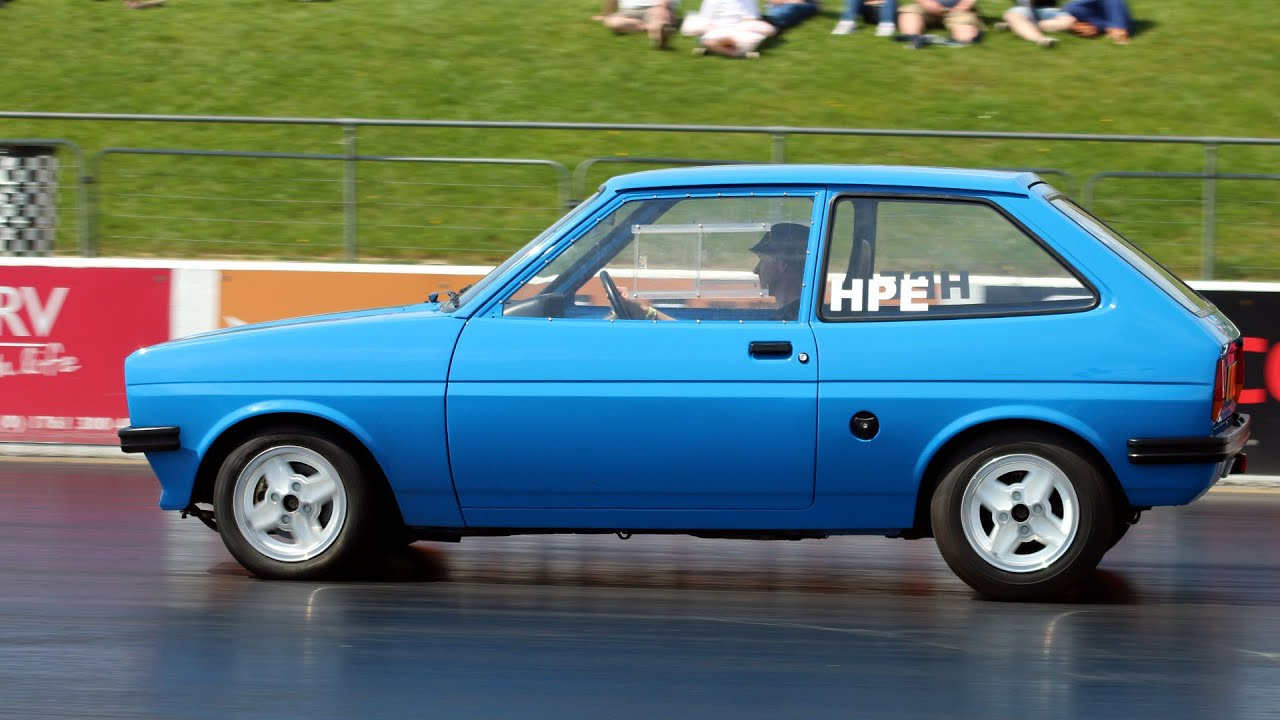 h p e ford fiesta mk1 runs in the low 12s youtube. Black Bedroom Furniture Sets. Home Design Ideas