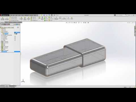 How to use the combine tool in SOLIDWORKS