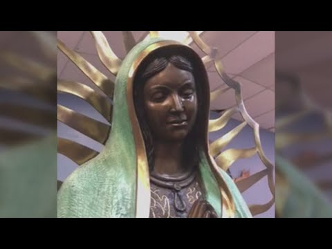 Hundreds head to Hobbs church to witness 'crying' Our Lady of Guadalupe statue