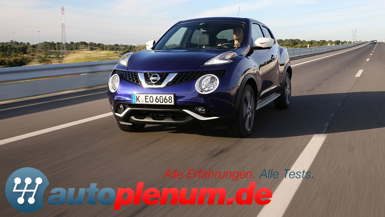 nissan juke test - autoplenum.de - youtube