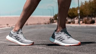 adidas Pure Boost GO (review + on foot)
