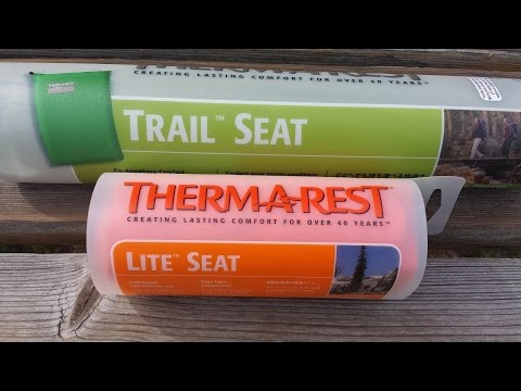 Therm-A-Rest Trail Seat vs Therm-A-Rest Lite Seat