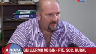 GUILLERMO VOISIN   PTE  SOC  RURAL   PRESENTACION 41º EXPORURAL