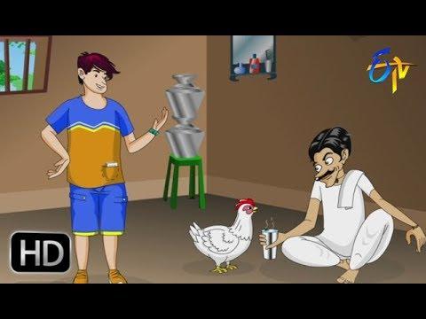 Lingam Mama Feeds Hot Water to HEN Bittu | Mast Time Pass By ETV thumbnail