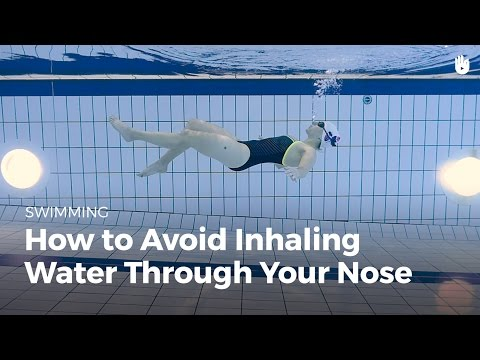 How To Avoid Breathing In Water Through Your Nose | Fear Of Water