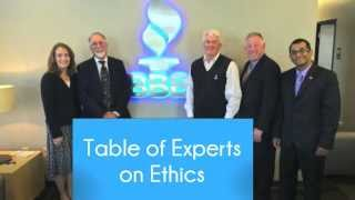BBB Table of Experts on Ethics