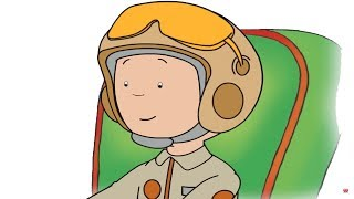 Caillou the Pilot | Funny Animated Cartoon | Caillou English Full Episodes | Videos For Kids