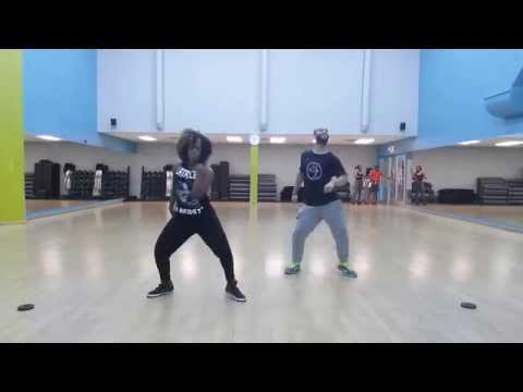 Zumba choreography to Jook So by:Aidonia