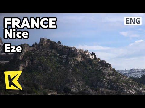 【K】France Travel-Nice[프랑스 여행-니스]절벽 위 독수리 요새, 에즈/Eze/Eagle Fort/Medieval Town/Garden/View