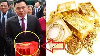 Choáng khi nhìn thấy lễ vật bên trong 21 tráp ăn hỏi của Hoa hậu Thu Ngân - TIN TỨC 24H TV