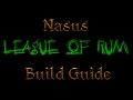 Nasus - Top Lane Build guide - Masteries, Runes and Gear.