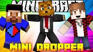 Minecraft Miniature Dropper (The Dropper 'Mini') w/ Vikkstar, BajanCanadian, and JeromeASF