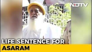 Asaram, Guilty Of Raping Schoolgirl, Sentenced To Life In Jail