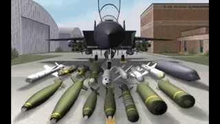 Microprose F-15 Strike Eagle III demo