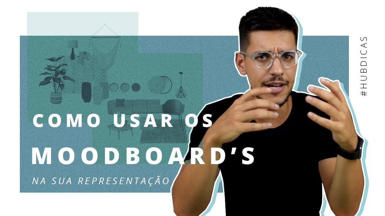 Como usar Moodboards de Arquitetura na sua representação