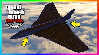 GTA Online The Doomsday Heist DLC NEW Information - Drones CONFIRMED, Volatol Bomber & MORE! (GTA 5) thumbnail