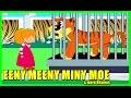 EENY MEENY MINY MOE Nursery Rhyme & more | Tickling Toddlers