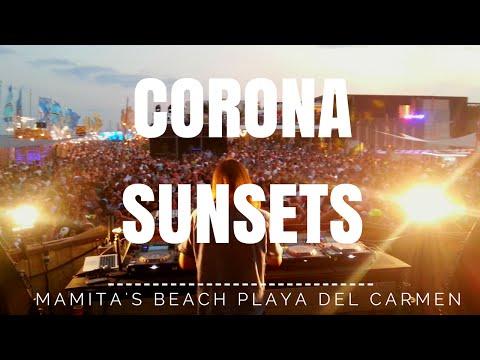 Corona Sunsets: La fiesta en Playa del Carmen.