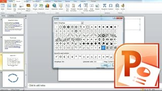 How to Insert Symbols into PowerPoint Presentation, Insert Check Mark in PowerPoint